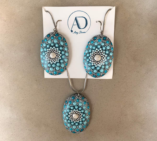 Pendant + Earrings Set (E)  | Amy Diener