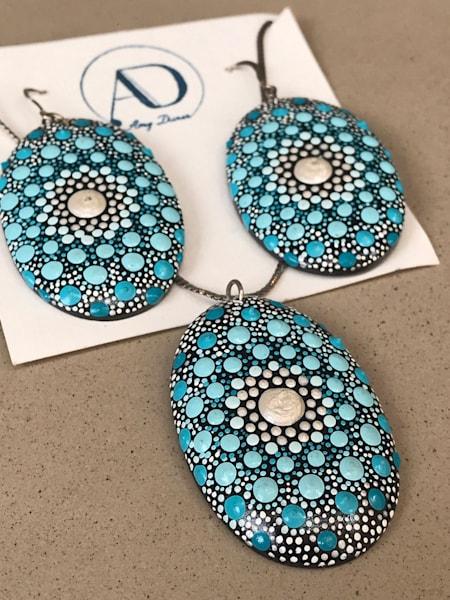 Pendant + Earrings Set (E)    Amy Diener