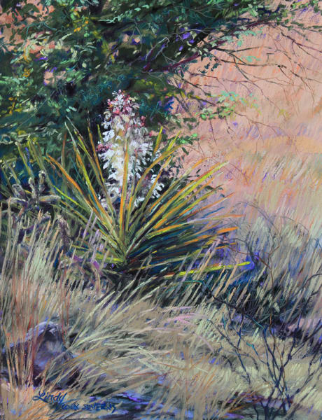 Lindy Cook Severns Art | Spring in West Texas, print
