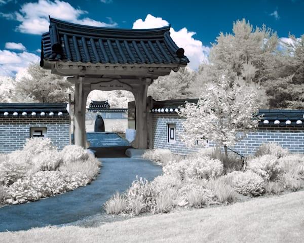 Japenese Garden in Infrared