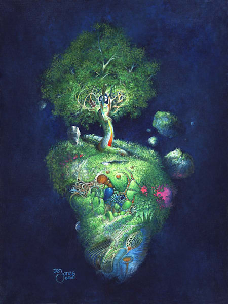 Tree She  Art | Dan Jones art