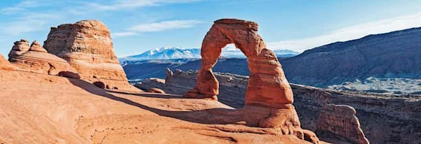 Delicate Arch On A Winter's Day Photography Art | Cerca Trova Photography