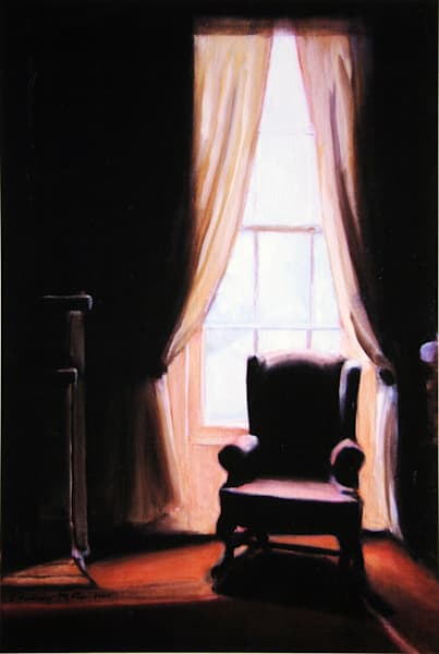 The Chair Art | Courtney Miller Bellairs Artist