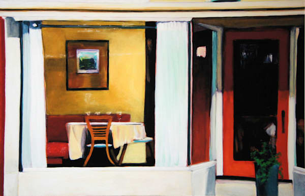 Table For Four Art | Courtney Miller Bellairs Artist