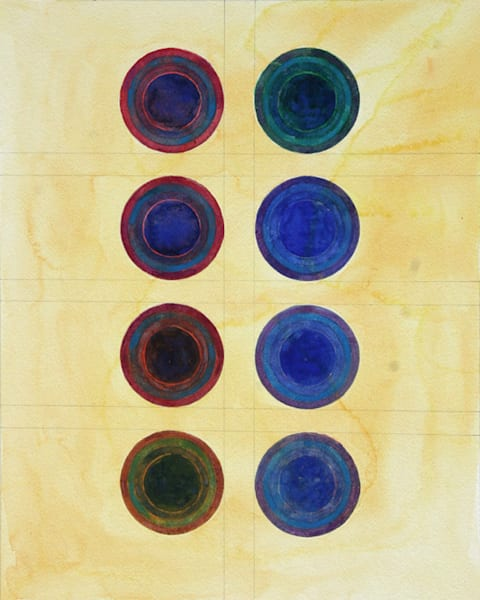 Large Circles Art | Courtney Miller Bellairs Artist