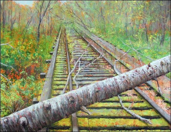 Green Road Art | Fountainhead Gallery