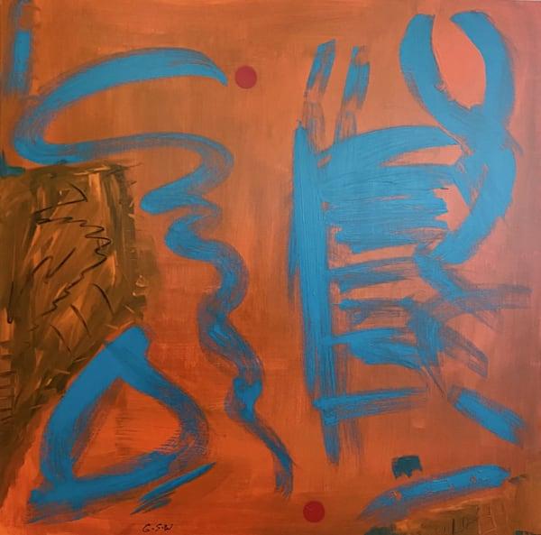"""""""Analogue"""" Original 30"""" X 30"""" Art   Garry Scott Wheeler Artwork LLC"""