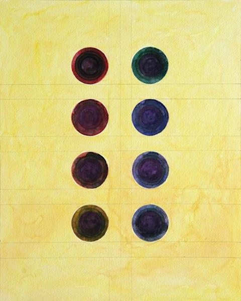 Small Circles Art | Courtney Miller Bellairs Artist