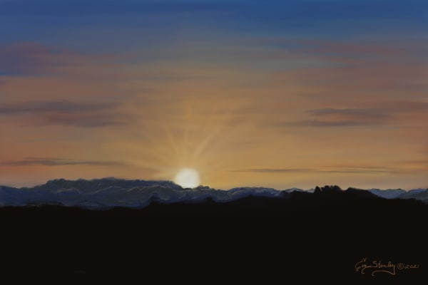 Big Bend, Texas Sunrise