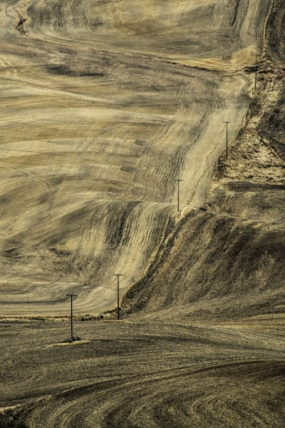 Fall Palouse Brushstrokes Photography Art | Monty Orr Photography
