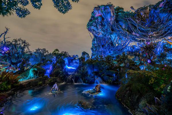 Floating Rocks and Blue Ponds - Disney Artwork   William Drew Photography
