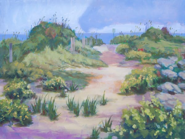 The Flip Flop Path To Paradise Art   Strickly Art