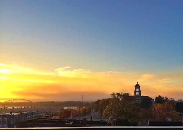 muscatine sunrise