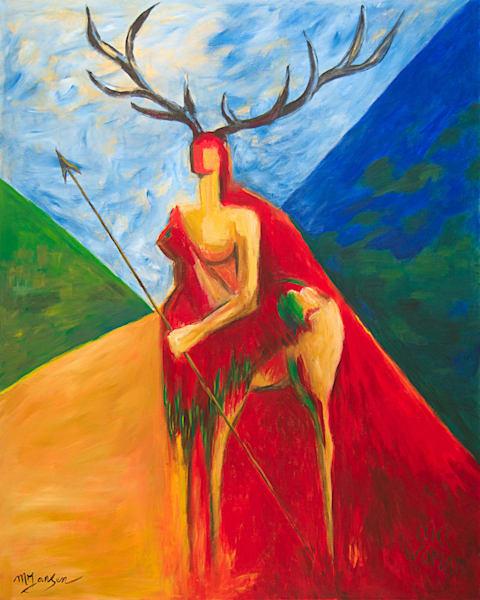 Elk Woman | Micky Jansen
