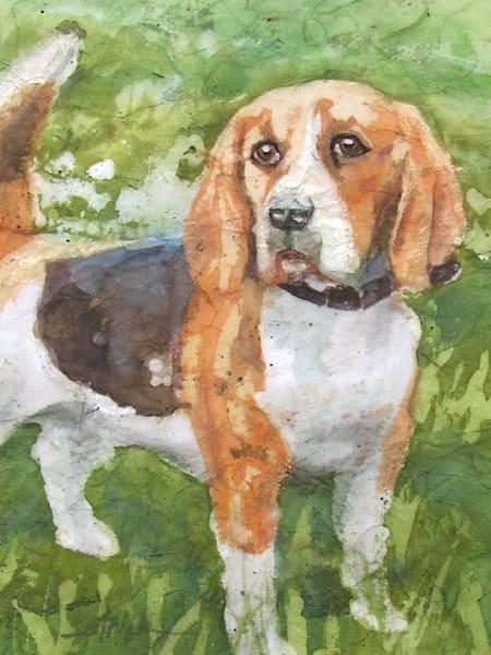 Patient Beagle Art | Strickly Art
