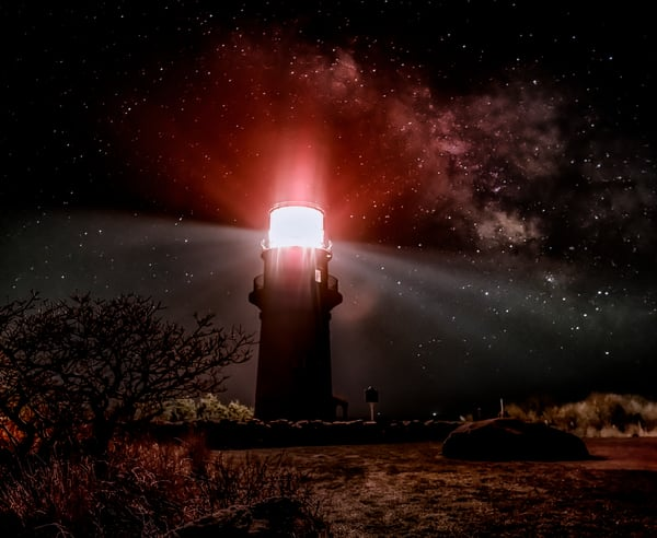Gay Head Light Milky Way Art | Michael Blanchard Inspirational Photography - Crossroads Gallery