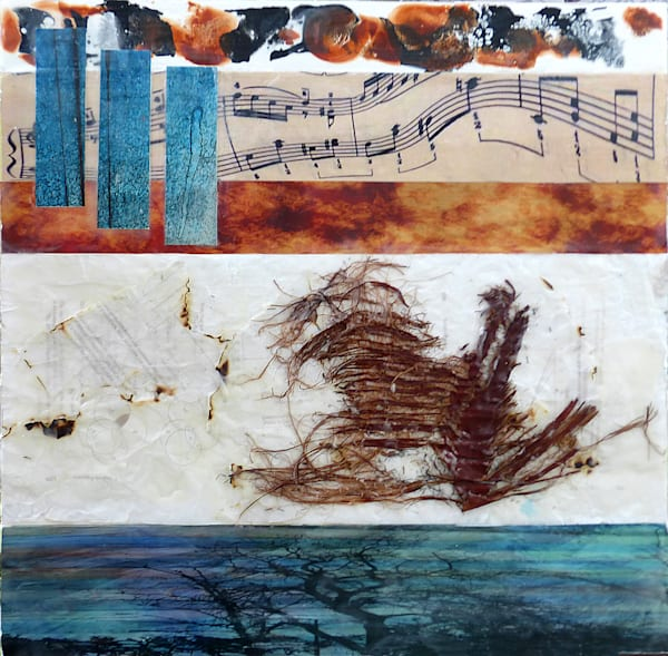 Music for Palms by American Artist Barbara Tabachnick.