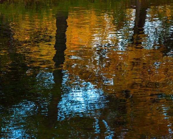 September River Reflection I, by Jeremy Simonson