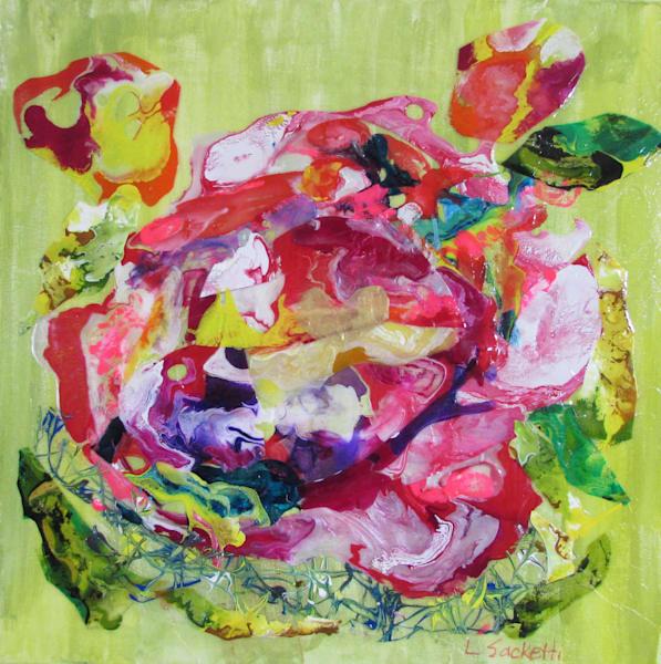 Heart Of A Rose Art | Linda Sacketti