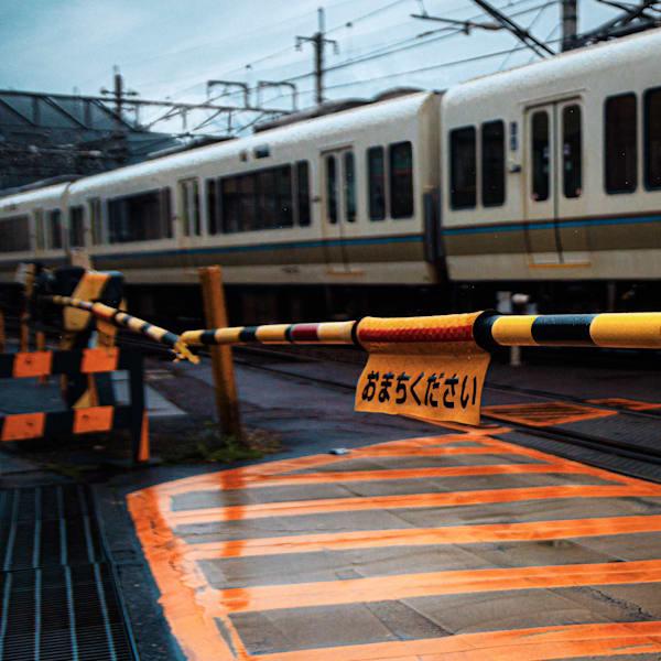Japan, Rising Sun series, Matej Silecky, Fine Art Photography, Trains
