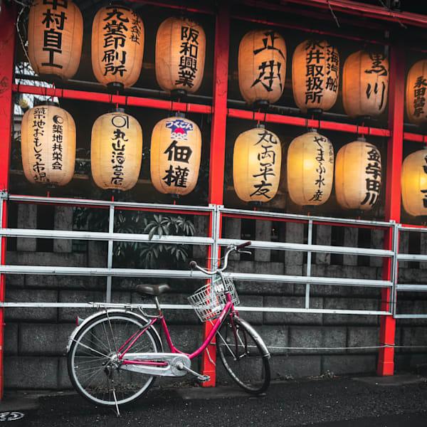 Japan, Rising Sun series, Matej Silecky, Fine Art Photography, Bicycle