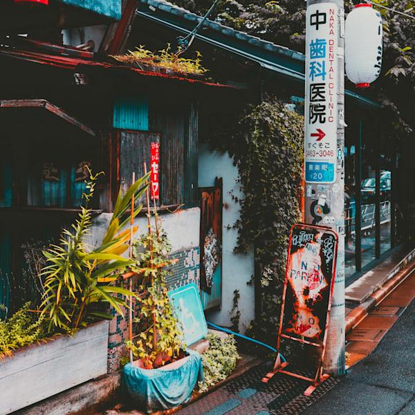 Japan, Rising Sun series, Matej Silecky, Fine Art Photography, Street Scene
