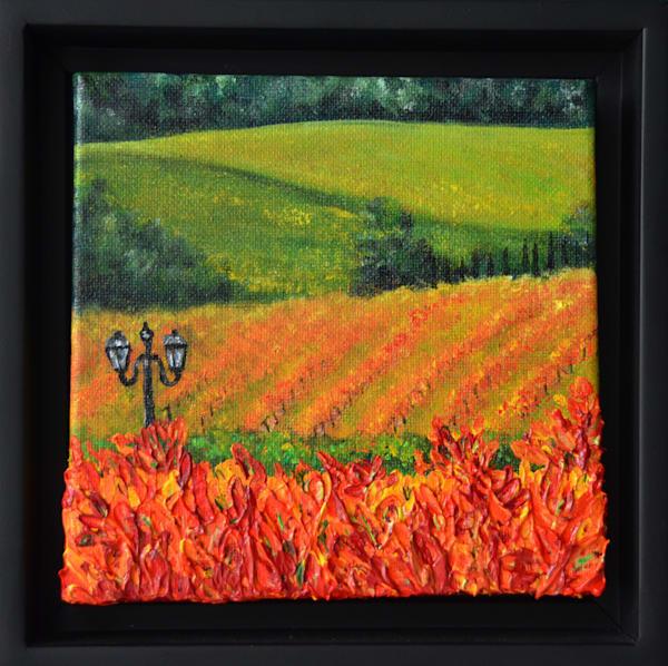 Napa Valley Fire – Original Art Painting - Fine Art Prints on Canvas, Paper, Metal & More