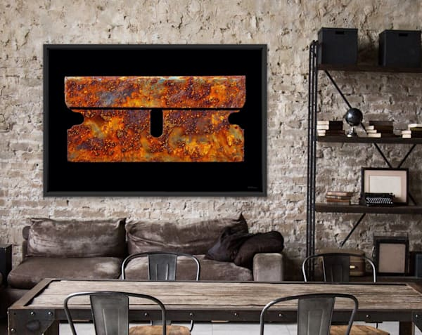 The Rusty Razor, fine art photograph for sale by Ted Morrison
