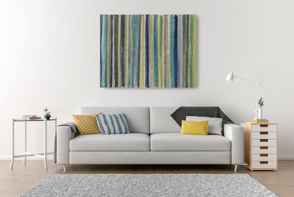 Seabreeze Blue Art | Noreen Dixon Art