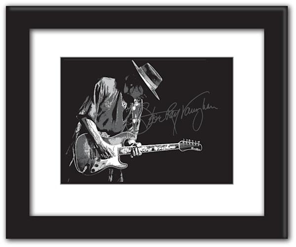 Stevie Ray Vaughn Art | Ken Jones Graphics