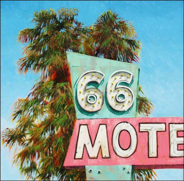66 Motel Art | Fountainhead Gallery