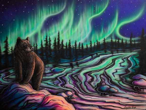 Sky Dance   Northern Light Art | Amy Keller Rempp Art