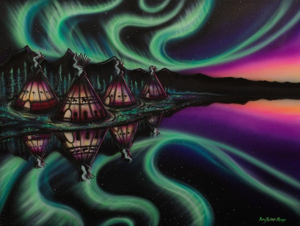 Sky Dance   Reflections Art | Amy Keller Rempp Art