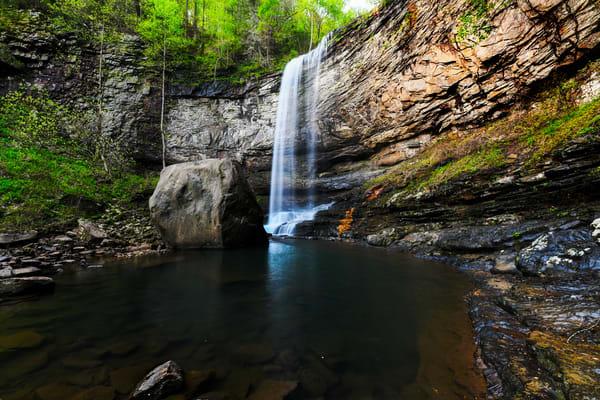Spring at Hemlock Falls - Cloudland Canyon State Park fine-art photography prints