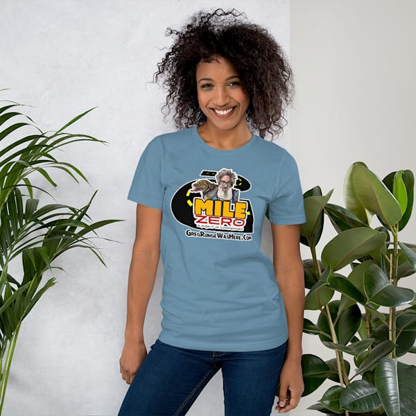 Mile Zero Unisex T Shirt | Water+Ink Studios