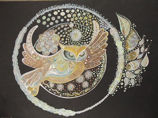 Winter's Owl Art | Cynthia Christensen Art