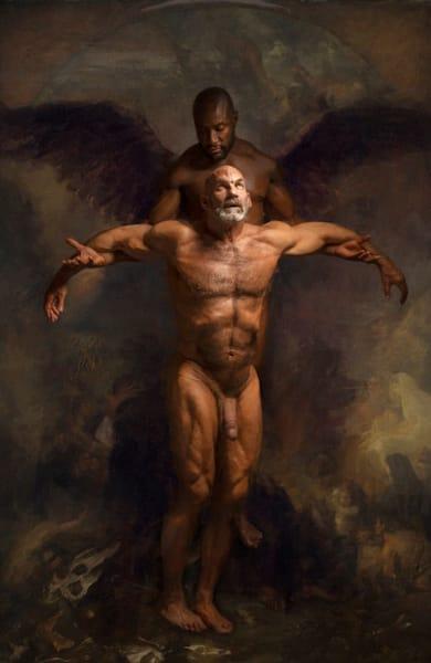 The rise of the fallen, Limited Edition, Artist Ben Fink, art prints, uncensored, art,
