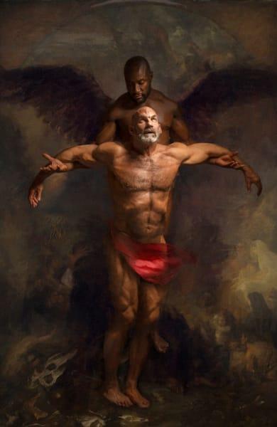 The rise of the fallen, Limited Edition, Artist Ben Fink, art prints, censored, art,