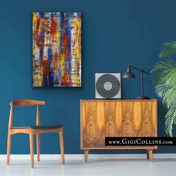 Trane Limited Edition Gallery Wrap Art | Gigi Collins Art