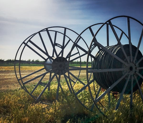 Irrigation Equipment, Hungry Hollow Ranch Art | Patrick Cosgrove Art and Photography