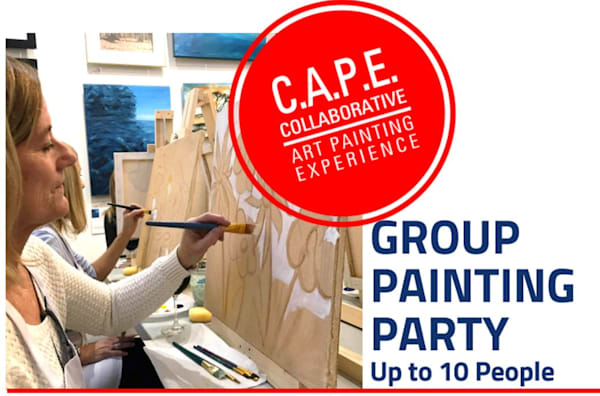 CAPE group painting party