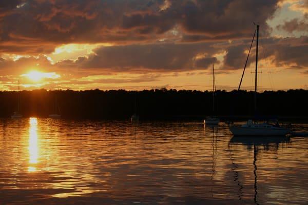 At Anchor Off The Apostle Islands Of Lake Superior Photography Art | Lauramarlandphoto.com