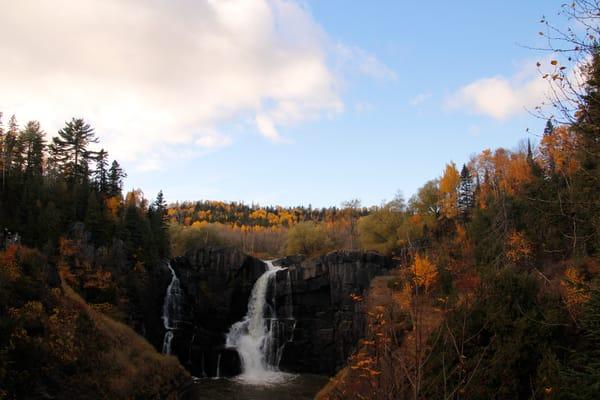 High Falls On The Pigeon River, U.S. Canada Border Photography Art | Lauramarlandphoto.com