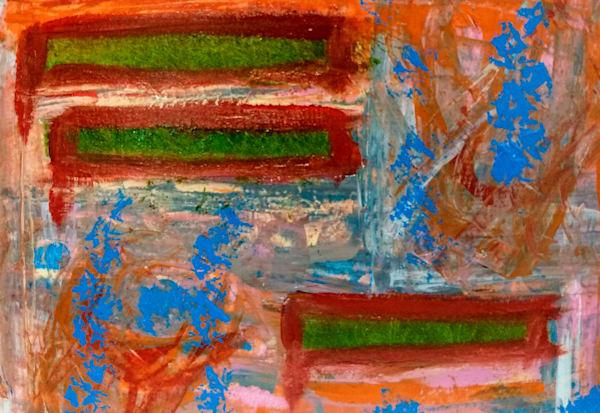 New York Abstract 005 Art | Yonko Kuchera