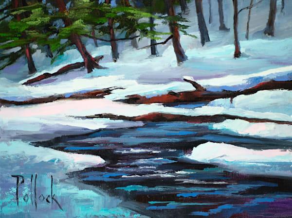 Study, Snowdrop oil on panel | Sarah Pollock Studio