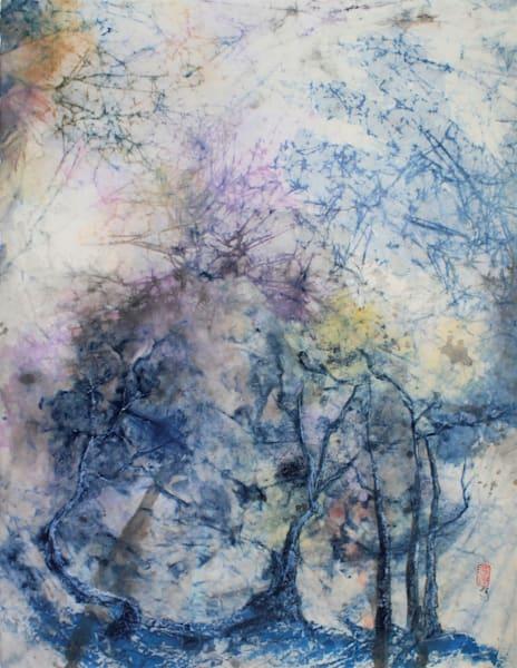 Under The Milky Way (Unframed) Art   Karen Kurka Jensen