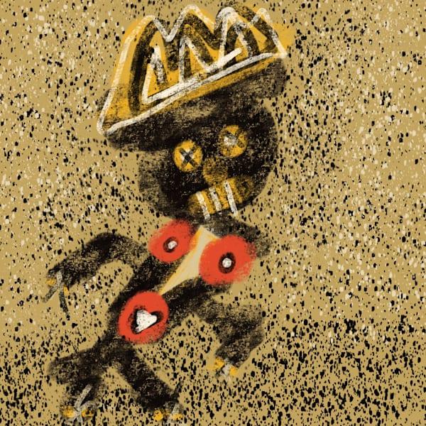 Man Of Burden Art | Yonko Kuchera