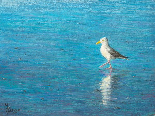 Testing The Water   Original Art   Mark Grasso Fine Art