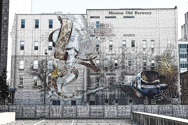 Old Brewery Mission Mural - OBM