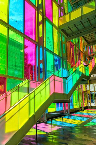 Rainbow Staircase - OBM